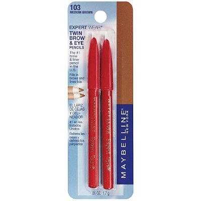 MaybellineExpert Wear Twin Brow & Eye Pencils