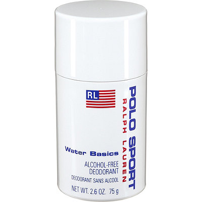 Ralph Lauren Polo Sport Water Basics Alcohol-Free Deodorant