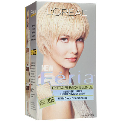 Hair Bleach : Home / Hair / Hair Color / Permanent / Feria Extra Bleach Blonde