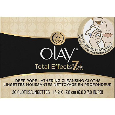 Olay Total Effects Lathering Cleansing Cloths