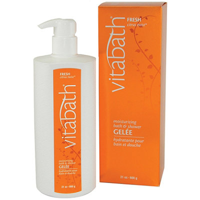 Vitabath Fresh Citrus Twist Moisturizing Bath and Shower Gelee