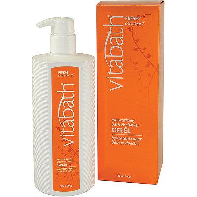 VitabathFresh Citrus Twist Moisturizing Bath and Shower Gelee