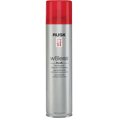 Rusk W8less Plus Extra Strong Hold Shaping and Control Hairspray