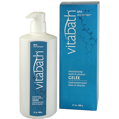 VitabathSpa Therapy Moisturizing Bath and Shower Gelee