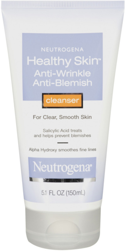 Check out Neutrogena Healthy Skin Anti-Wrinkle/Anti-Blemish Cleanser - ShopYourWay