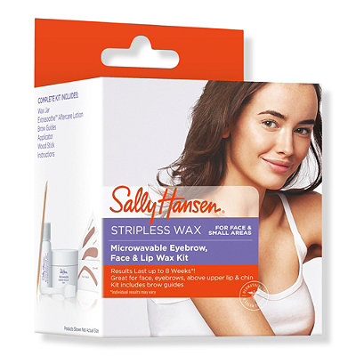 Sally HansenMicrowavable Eyebrow, Face & Lip Wax Kit
