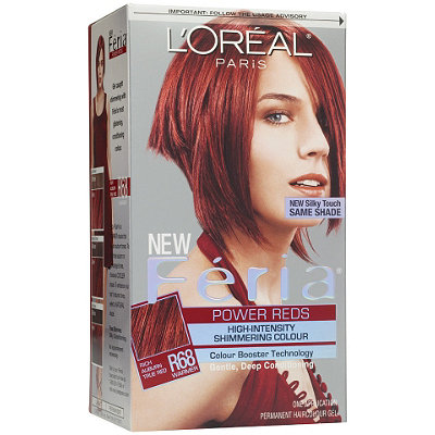 L'Oréal Feria Power Reds High-Intensity Shimmering Colour