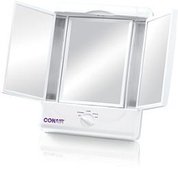 Lighted Makeup Mirror.Illumina Lighted Makeup Mirror