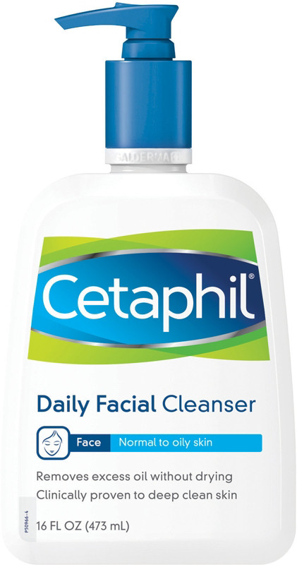 Cetaphil facial cleanser for acne