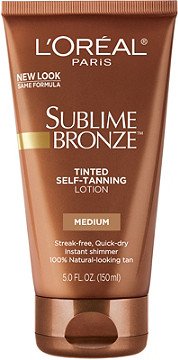 L Oreal Sublime Bronze Tinted Self Tanning Lotion Ulta Beauty