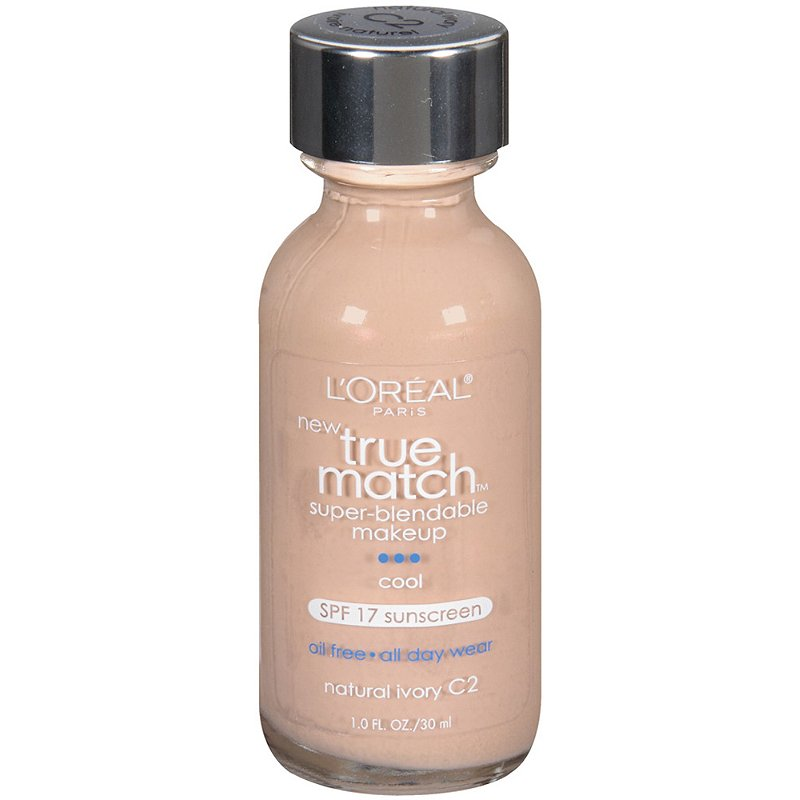 l oreal true match foundation oil free