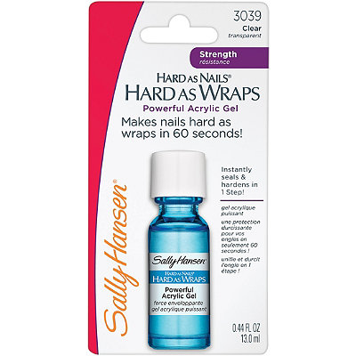 Sally Hansen Hard As Nails Hard As Wraps Powerful Acrylic Gel