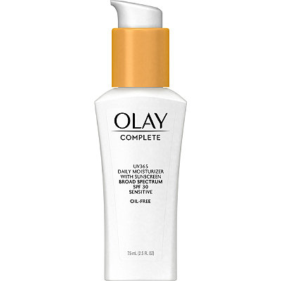 OlayComplete Daily Defense All Day Moisturizer SPF 30 Sensitive Skin