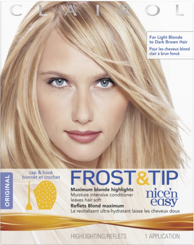 Clairol Frost Tip Nice N Easy Maximum Blonde Highlights Kit