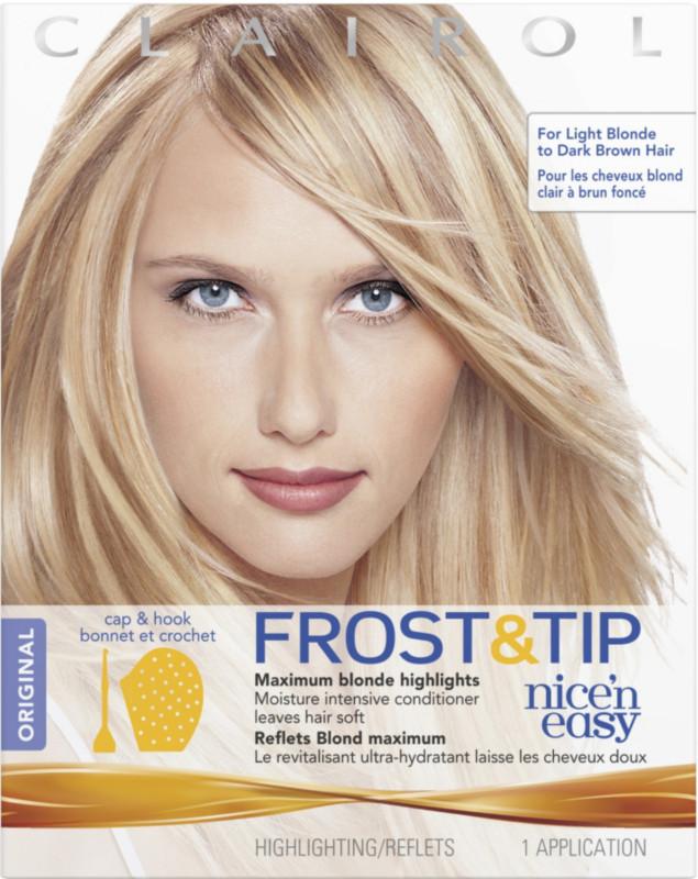 Frost tip nice n easy maximum blonde highlights kit pmusecretfo Choice Image