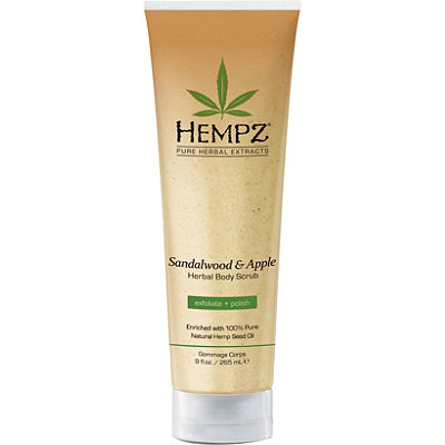 Hempz Sandalwood and Apple Herbal Body Scrub