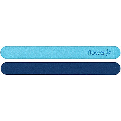 Flowery Moody Blue Nail File