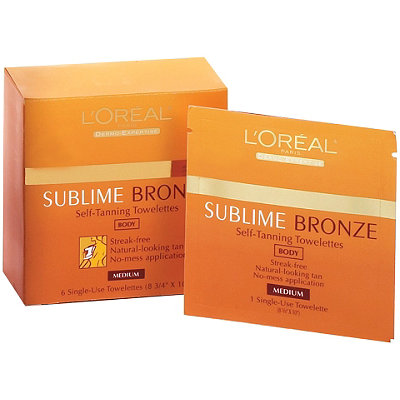 Sublime Bronze Self-Tanning Towelettes