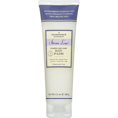 AromafloriaStress Less Foaming Salt Glow Body Polish