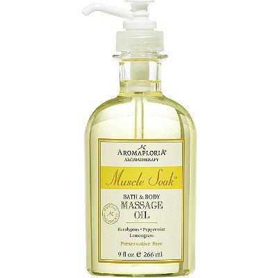 AromafloriaMuscle Soak Bath & Body Oil
