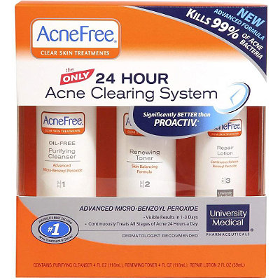 University MedicalAcne Free Clear Skin Treatments