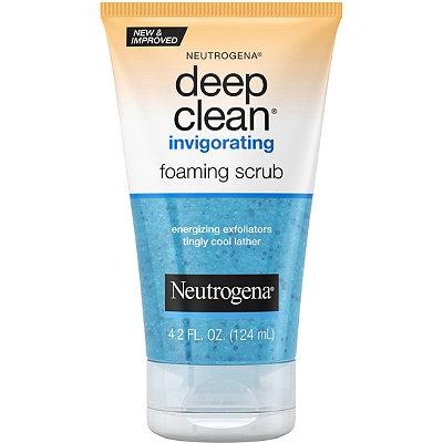 NeutrogenaDeep Clean Invigorating Foaming Scrub