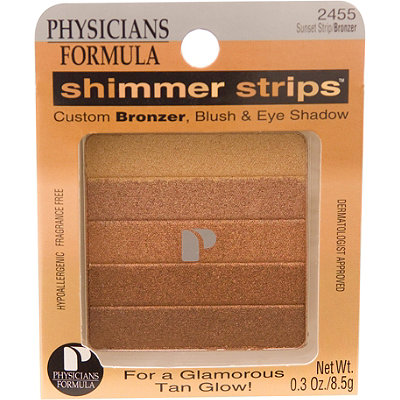 Physicians Formula Shimmer Strips Custom Bronzer%2C Blush %26 Eyeshadow