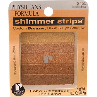 Shimmer Strips Custom Bronzer, Blush & Eyeshadow