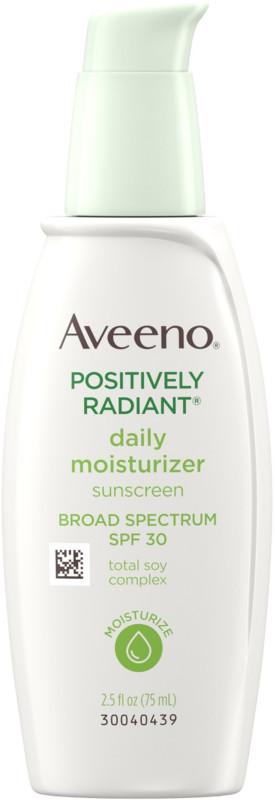 aveeno face moisturizer for dry skin