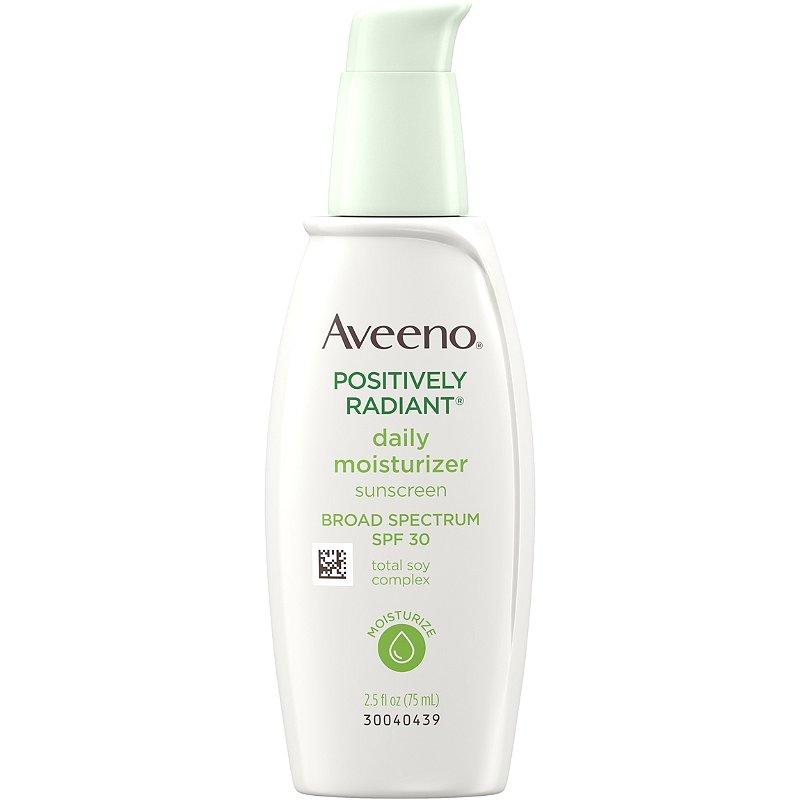 Aveeno Positively Radiant Daily Moisturizer SPF 30 | Ulta Beauty