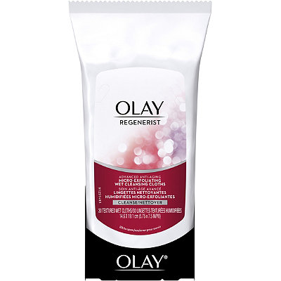 OlayRegenerist Micro-Exfoliating Wet Cleansing Cloths 30 Ct