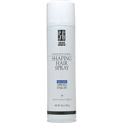 Salon Grafix Shaping Hairspray Unscented Super Hold Styling Mist
