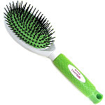 Fresh Oval Cushion Nylon Ball Tips Hair Brush