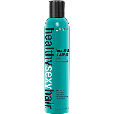 Sexy Hair Healthy Sexy Hair Soya Want Full Hair Firm Hold Hairspray