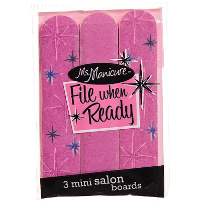 Ms. Manicure Mini Emery Set