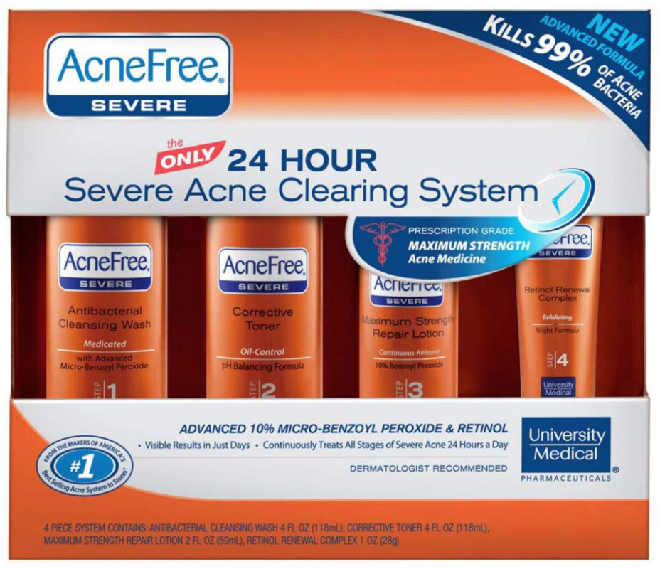 University Medical Severe Acne Treatment