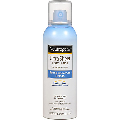 Neutrogena Ultra Sheer SPF 45 Aerosol Sunblock