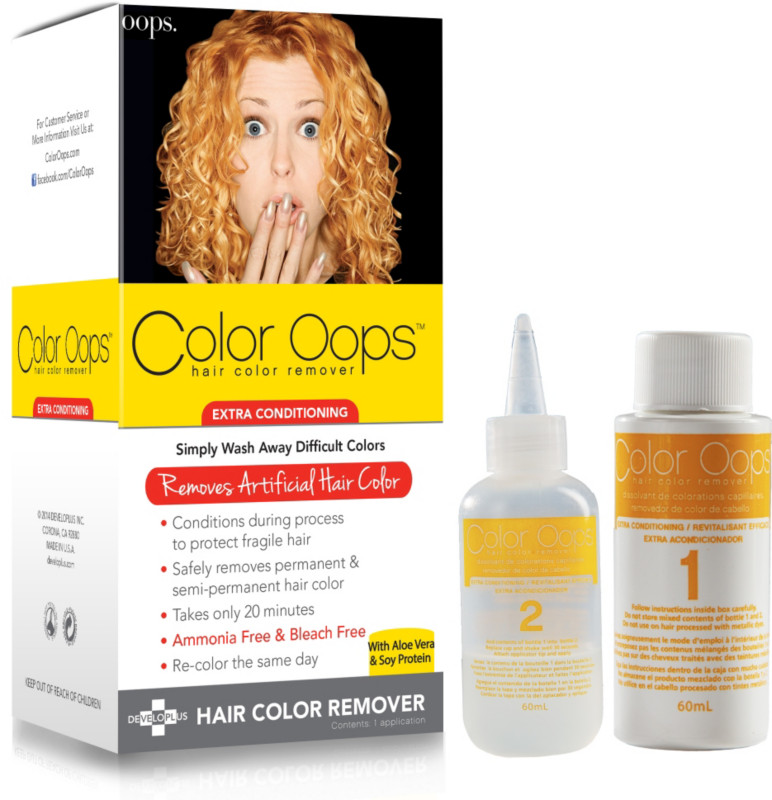 Coloring for Kids colored hairspray for kids : Color Oops Hair Color Remover | Ulta Beauty