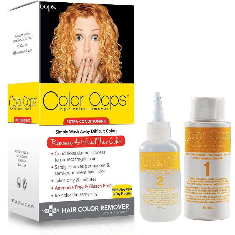 Color Oops Hair Color Remover | Amazing Hair Color Remover Products You Can Use At Home