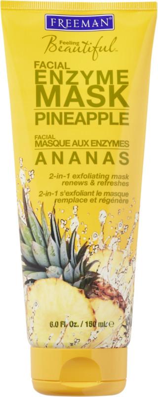Pineapple enzyme facial peel mask