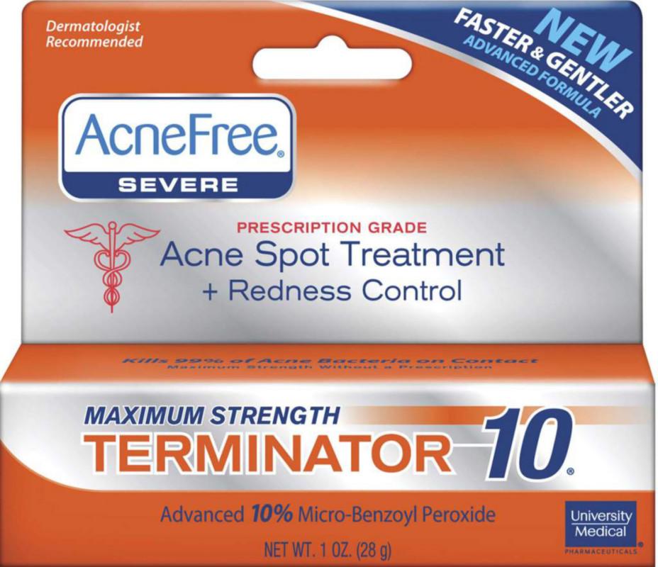 University Medical AcneFree Terminator 10