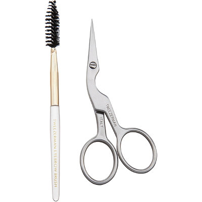 TweezermanBrow Shaping Scissors and Brush