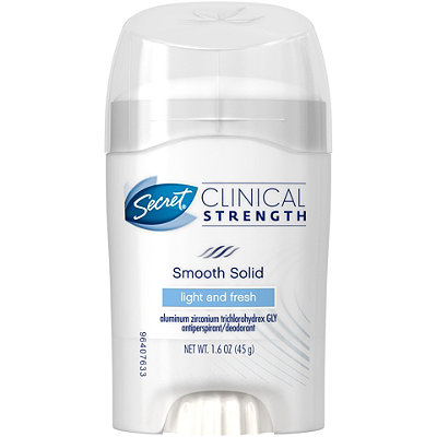 Secret Clinical Strength Smooth Solid Deodorant