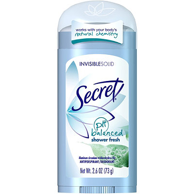Shower Fresh PH Balanced Invisible Solid Deodorant