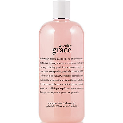 Philosophy Amazing Grace Perfumed Shampoo, Shower Gel & Bubble Bath