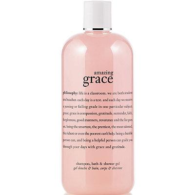 Amazing Grace Perfumed Shampoo, Shower Gel & Bubble Bath