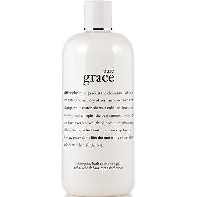 PhilosophyPure Grace Perfumed Shampoo, Shower Gel & Bubble Bath