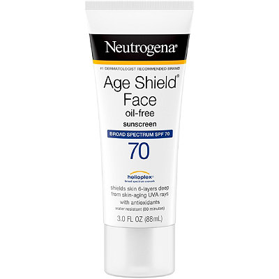Neutrogena Age Shield Face Sunblock SPF 70