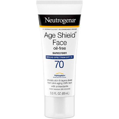 NeutrogenaAge Shield Face Sunblock SPF 70