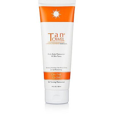Tan TowelOn the Glow Self Tanning Moisturizer